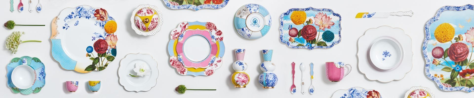 The Royal Multicoloured Porcelain Collection