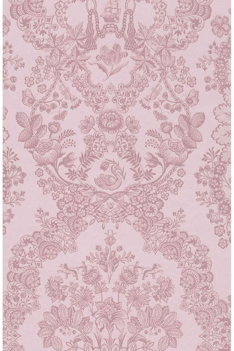 Lacy Dutch Wallpaper Soft Pink Pip Studio The Official Website