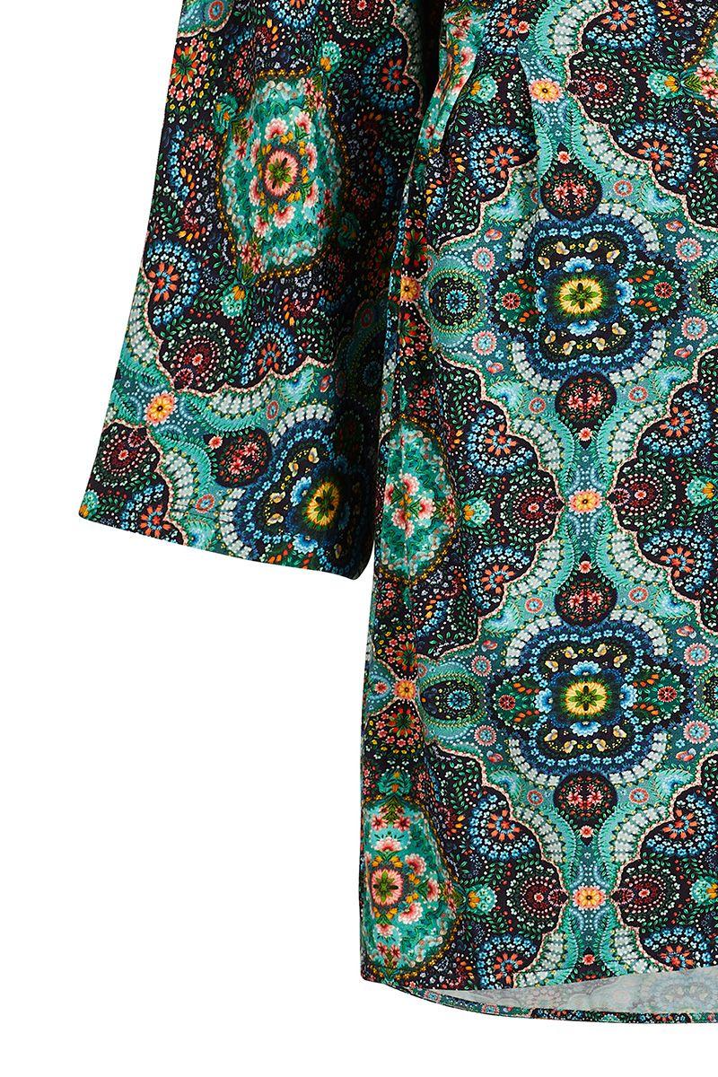 Kleid mit 3/4 Ärmeln Moon Delight Blau | Pip Studio the ...