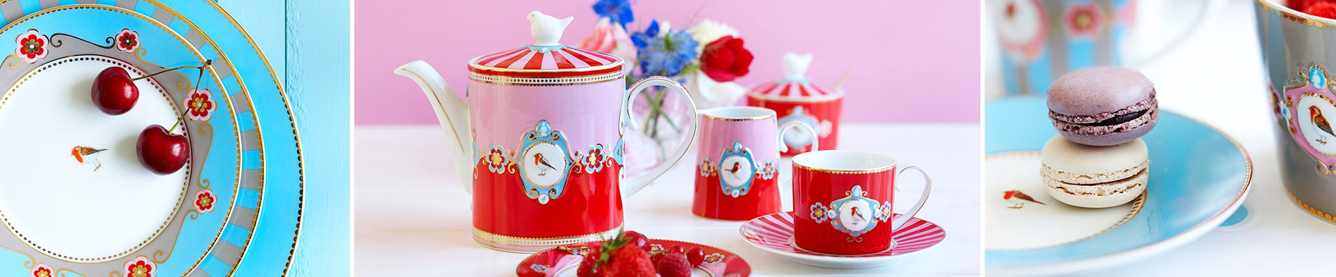 Love Birds Porcelain Collection