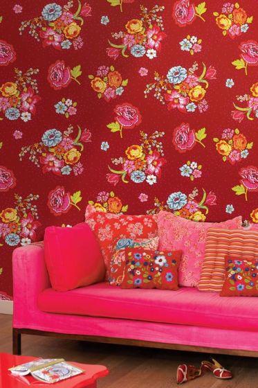tapete-vliestapete-blumen-rot-pip-studio-bunch-of-flowers
