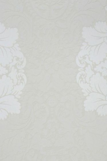 Silhouettes Flock wallpaper khaki