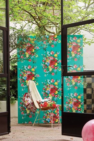 behang-vliesbehang-bloemen-groen-pip-studio- dutch-painters
