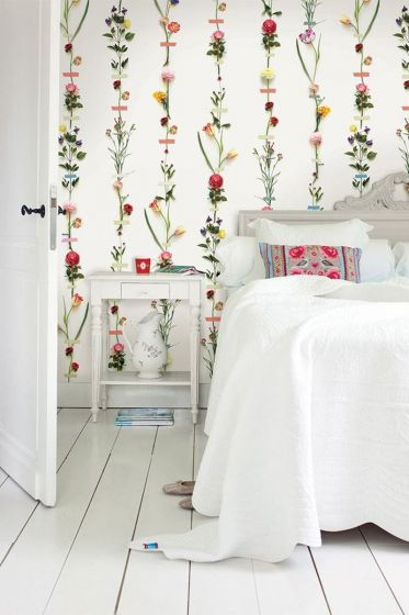 Pip Studio Flower Garland wallpaper