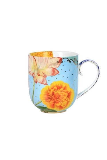 Royal mug large multicoloured