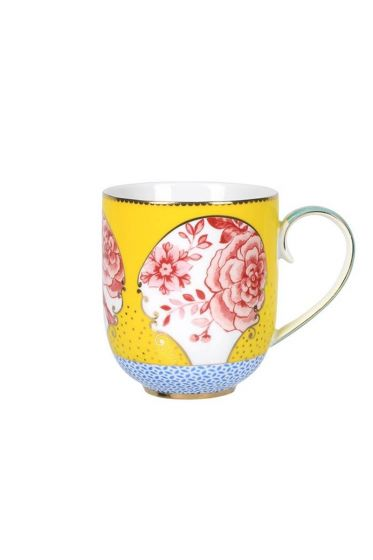 Royal tasse gross gelb