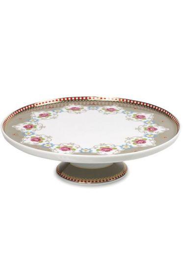 Mini Cake Tray Blossom Khaki