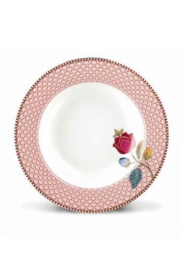Floral Fantasy Suppenteller rosa