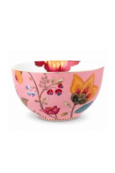 Floral Fantasy bowl pink