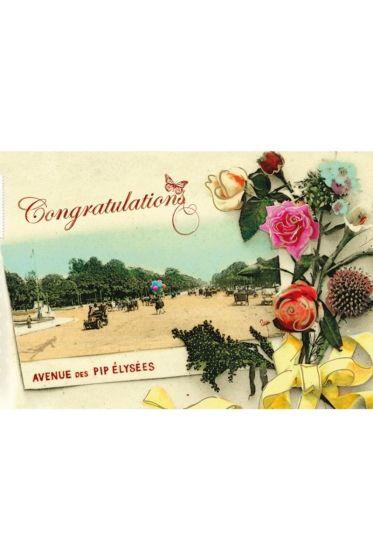Karte Congratulations 075