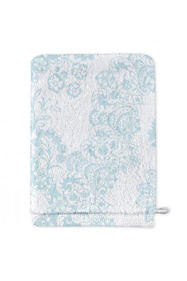 Washcloth Lacy Dutch Blue