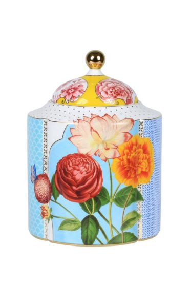M Royal storage jar multicoloured