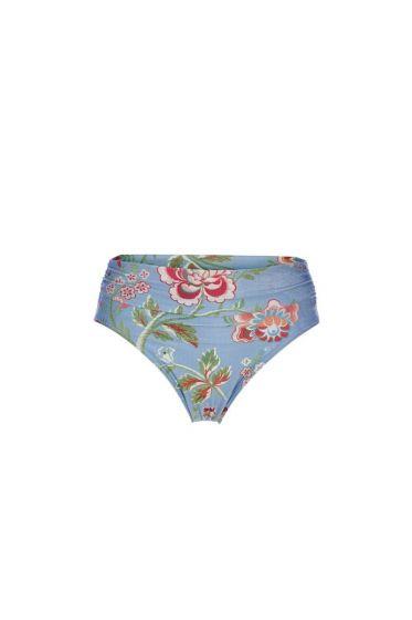 Bikinihose Le Bois Fleuri Blau