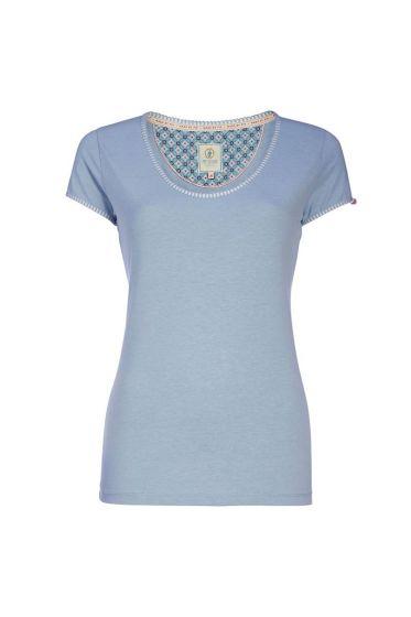 Top Melee Vintage Blauw