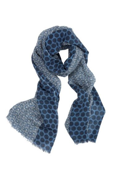 Scarf Lacy Blue