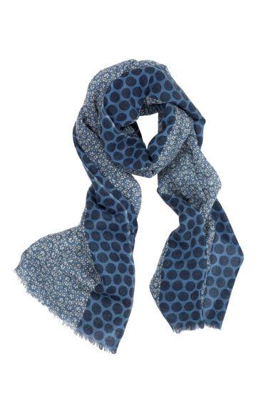 Schal Lacy Blau