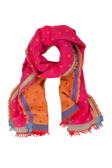 Scarf Small Dot Red