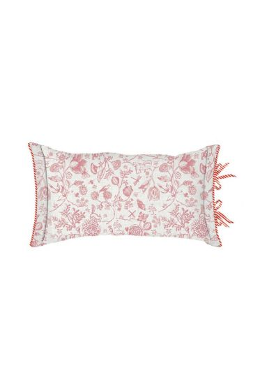 Cushion Buttons Up Rectangle Pink