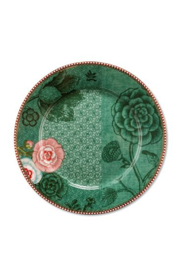 Spring to Life Breakfast Plate 21 cm Green