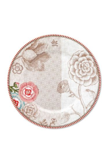 Spring to Life Breakfast Plate 21 cm Off White