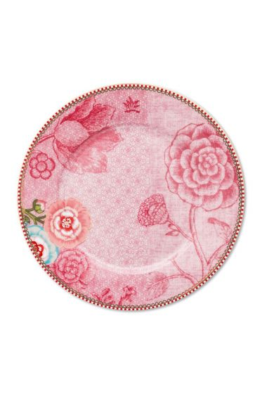 Spring to Life Breakfast Plate 21 cm Pink