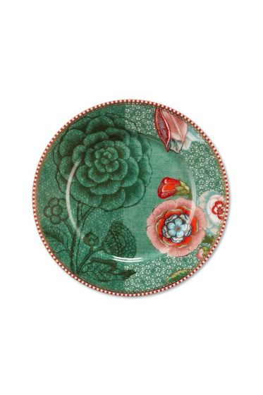 Spring to Life Cake Plate 17 cm Green