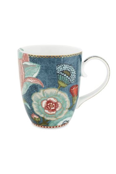 Spring to Life Mug Large Blue