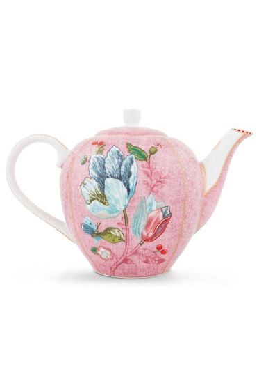 Spring to Life Theepot Roze
