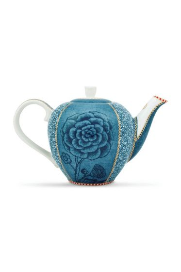 Spring to Life Teapot Small Blue