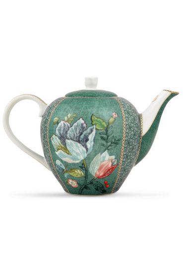 Spring to Life Teapot Green