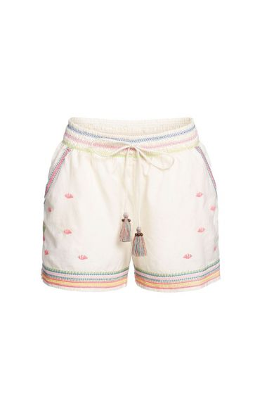 Shorts Embroidery Off-White