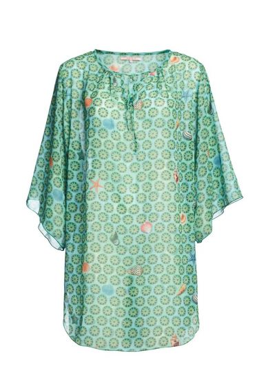 Tunic Sea Dots light green