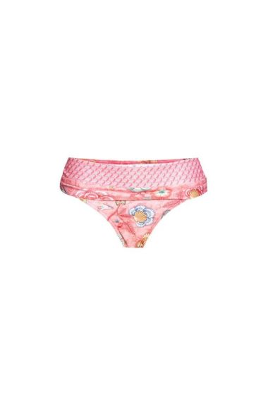 Bikini bottom Contrasting Band Shellebration pink