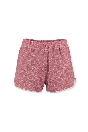 Shorts Leaves Pink