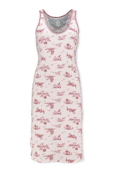 Sleeveless Night Dress Flow de Fleur Pink