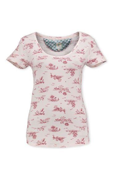 T-Shirt Flow de Fleur Pink