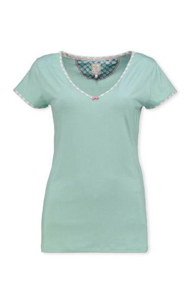 T-Shirt Melee Mintgrün