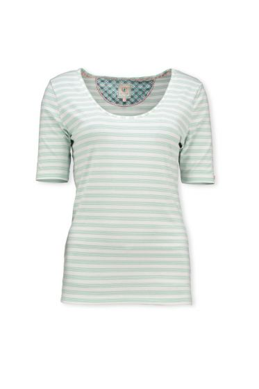 T-Shirt Mini Stripe Blue