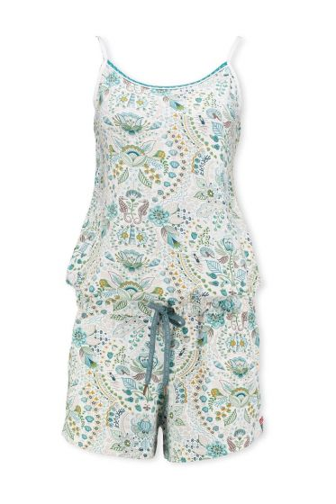 Playsuit Sea Stitch Hellblau