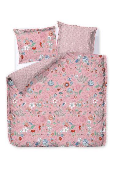 Bettbezug Spring to life petit Rosa