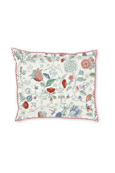 Pillow case Spring to life petit White