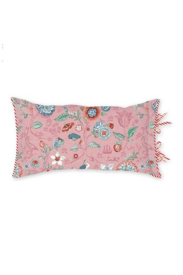 Rectangle Cushion Spring to life petit Pink