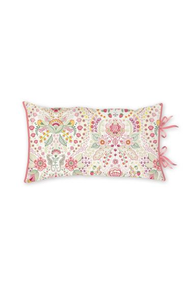 CushionRectangle Sea Stitch Pink