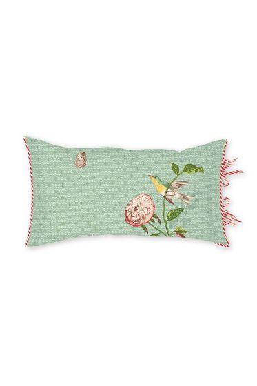 Cushion Pip Poppy Green