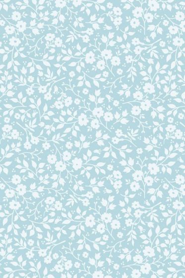 Pip Studio Lovely Branches wallpaper blue
