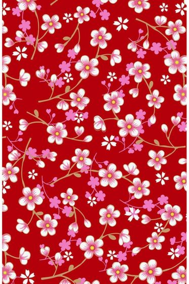 Cherry Blossom wallpaper red pink