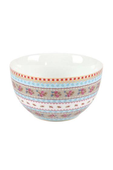 XS Floral bowl khaki