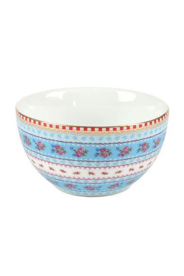 XS Floral bowl blue