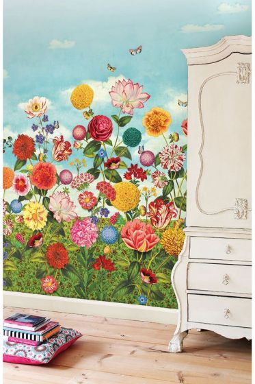 Wild Flowerland wallpower