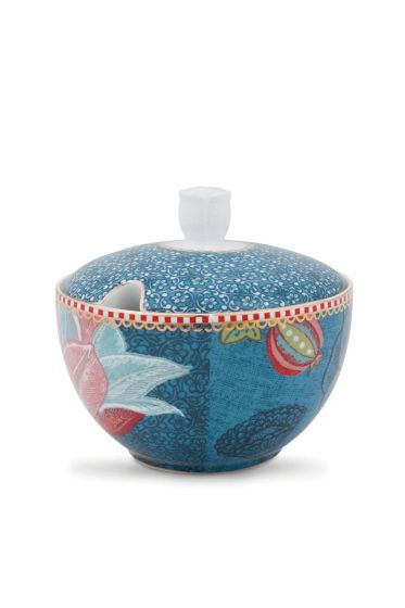 Spring to Life Sugar bowl Blue